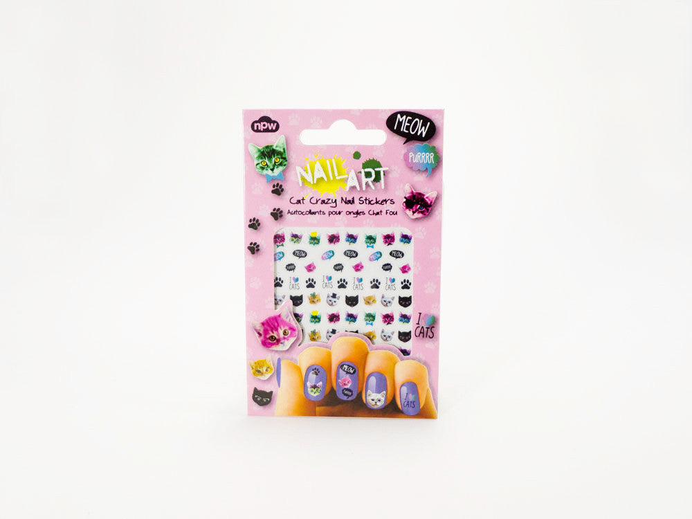 toyhood store's cat nail stickers by npw