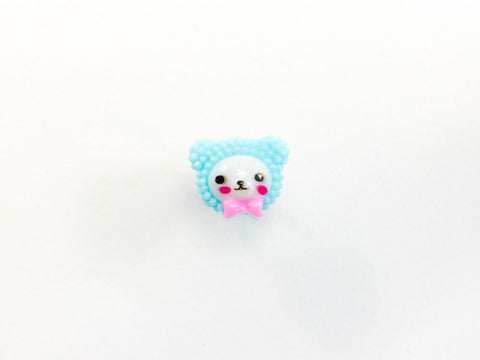 toyhood store's kawaii teddy ring by pop cutie