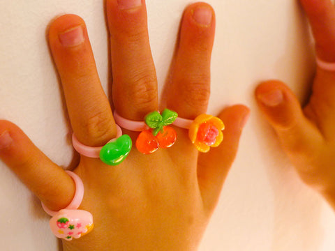 toyhood store's weekday rings by pop cutie