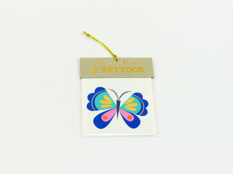 toyhood store's butterfly tattoos from meri meri