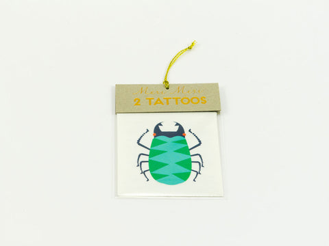 toyhood store's bug tattoos by meri meri