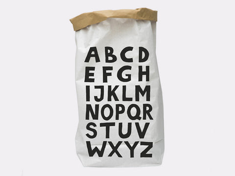 ABC Paper Storage Bag