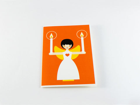 toyhood store's angel greeting card from dicky bird