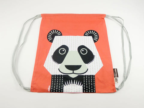 Panda Drawstring Kit Bag