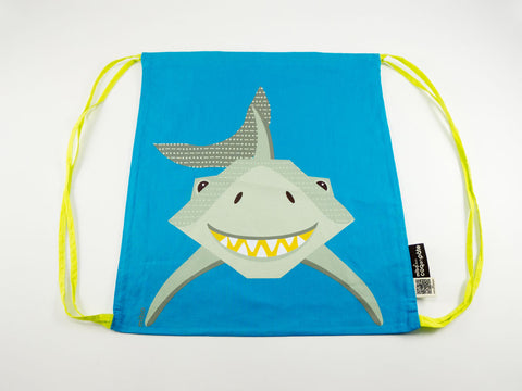 Shark Drawstring Kit Bag