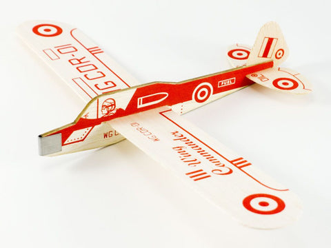 Wing Commander Balsa Wood Plane