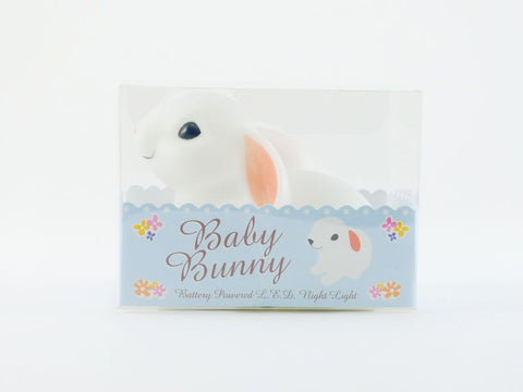 toyhood store's baby bunny night light by rex
