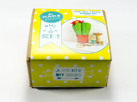 Felt Cactus Sewing Kit