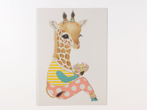 Guusje the Giraffe Postcard with Envelope