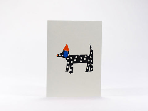 Bits and Bobs Dog Mini Greeting Card