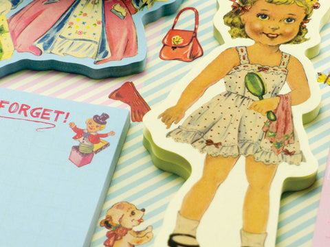 little madame dress up dolly memo pads by rex