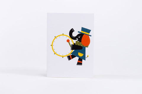 Shunsuke Satake Elephant Mini Card