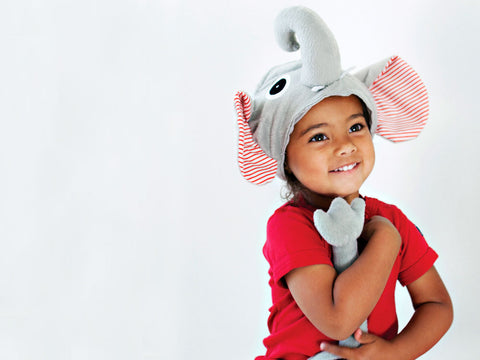 Elephant Hat and Tail