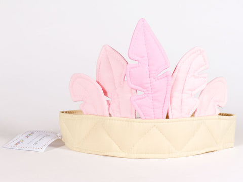 Pink Feather Crown