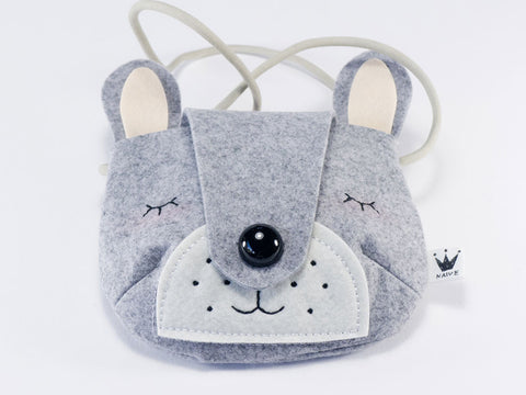 Felt Rabbit Bag