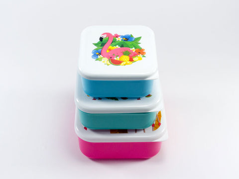 Tropical Lunch Boxes (set of 3)