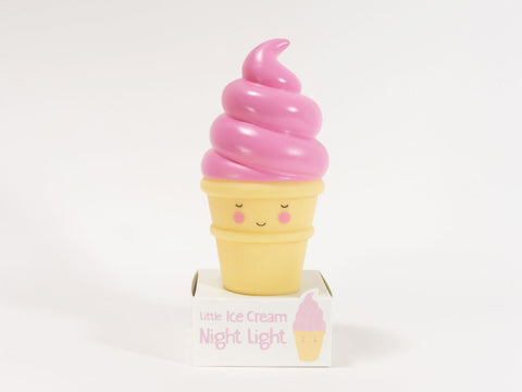 Strawberry Ice Cream Night Light