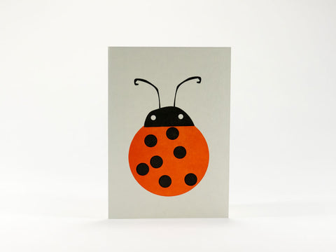 Bits and Bobs Ladybird Mini Greeting Card