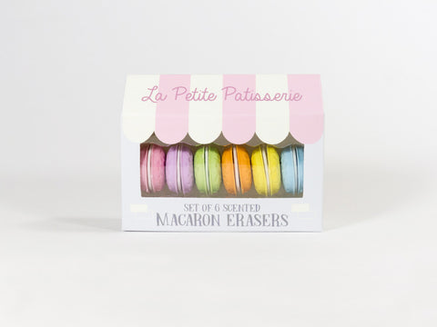 Scented Macaron Erasers