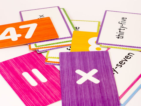 toyhood store's numbers flash cards by alain gree