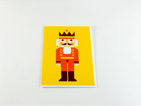 toyhood store's nutcracker greeting card from dicky bird
