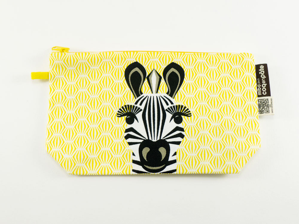 toyhood store's zebra pencil case by mibo
