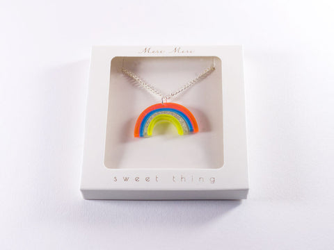toyhood's rainbow necklace by meri meri
