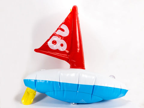 Inflatable Sailboat Toy