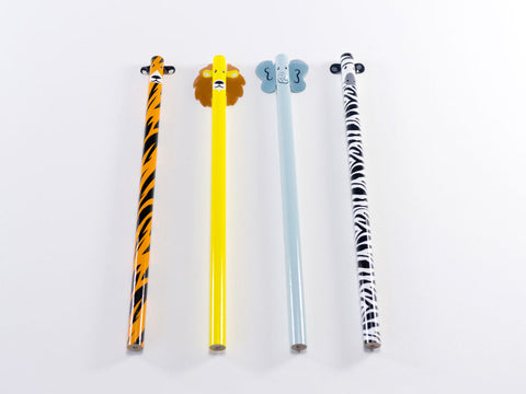 Safari Pencils (Set of 4)
