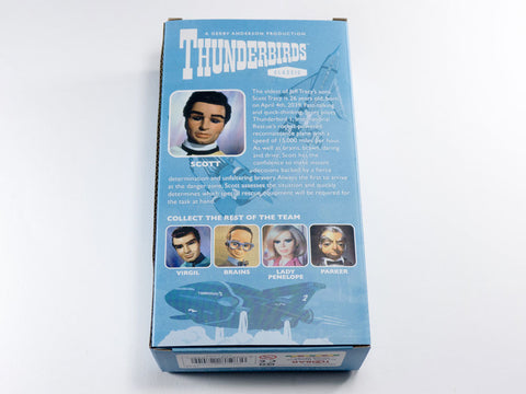 toyhood store's scott flexi figure by gerry anderson thunderbirds
