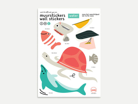 Sealife Wall Sticker Pack