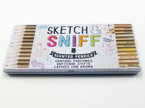 Sketch & Sniff Scented Pencils