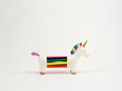 Unicorn Rainbow Pencil Holder