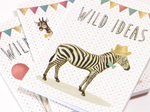 Party Animals Wild Ideas Pocket Notebook