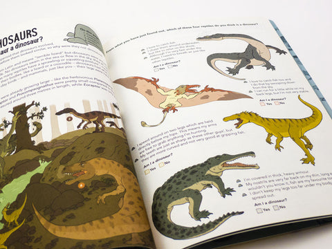 toyhood store's triassic terrors by flying eye books