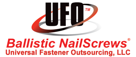 UFO Ballistic NailScrews®