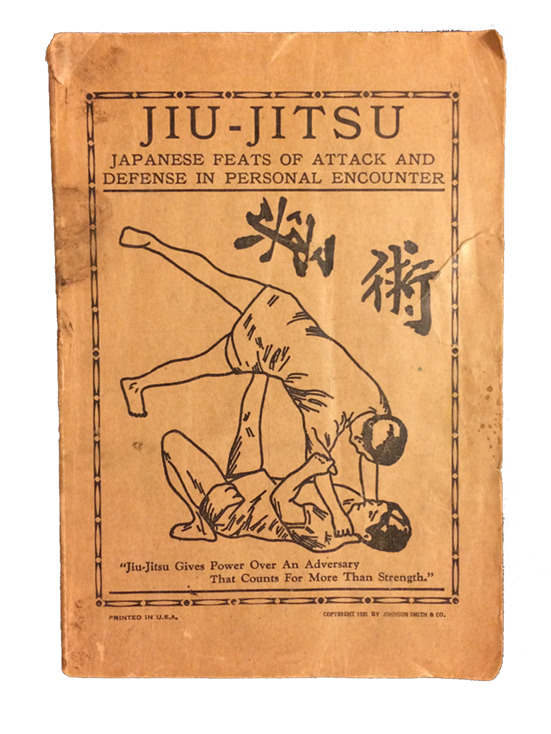 Vintage 1935 Jiu-Jitsu Book by Johnson Smith & Co.