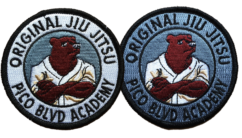 Pico Blvd Academy Patches (pair)