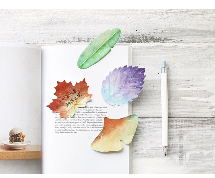 Plant Leaf Sticky Notes