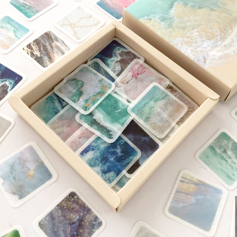 Marble Abstract Art Series Stickers
