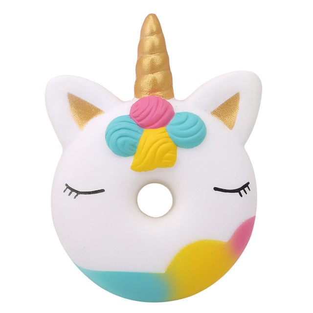 Unicorn Donuts Squishy