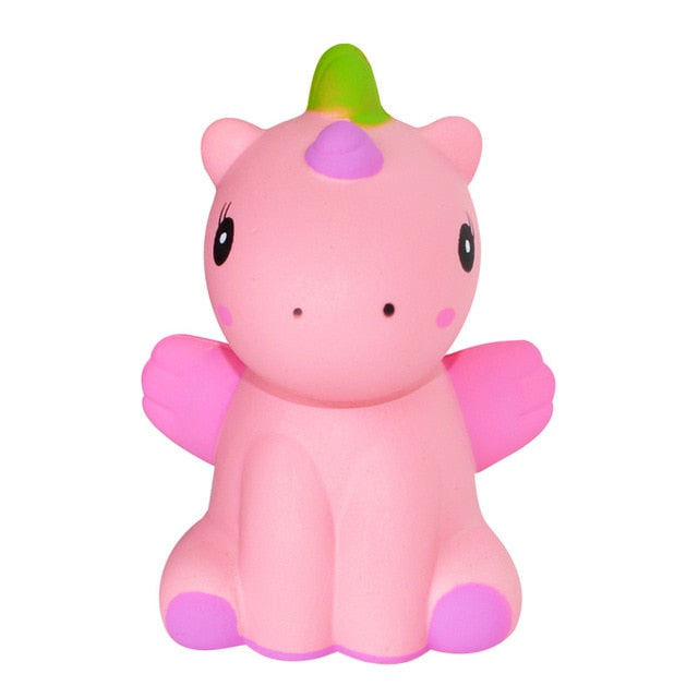 Unicorn with Wings Squishy (Pink)