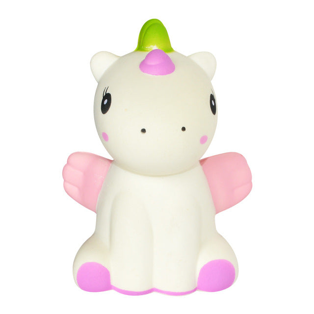 Unicorn with Wings Squishy (White)