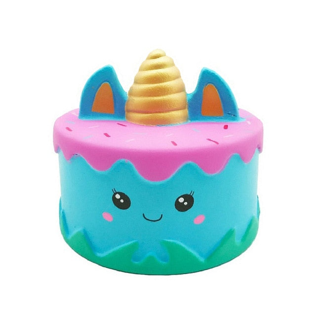 Pink & Blue Unicorn Cake Squishy