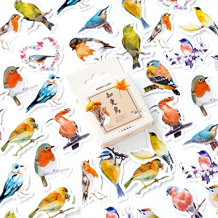 Birds Mini Paper Stickers
