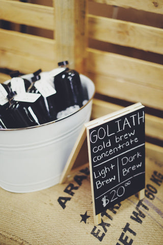 Goliath Coffee Cold Brew Concentrate