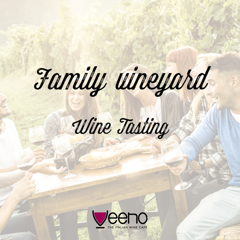 Family Vineyard Wine Tasting Gift Card