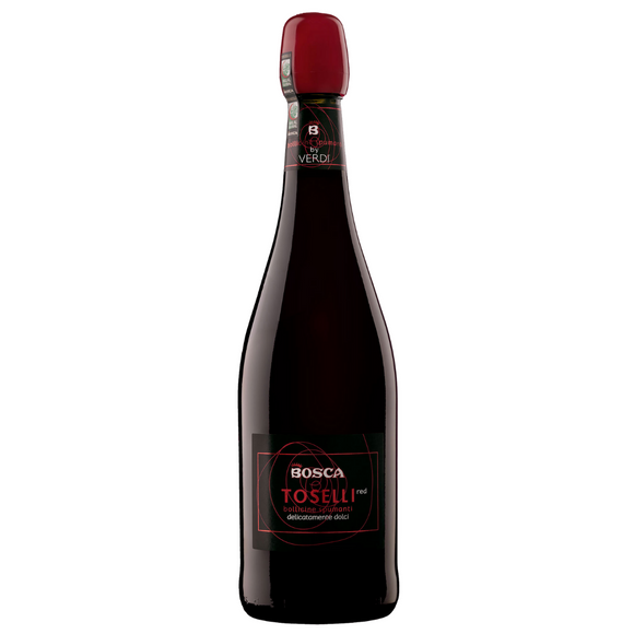 Bosca Toselli Sparkling red - non alcoholic