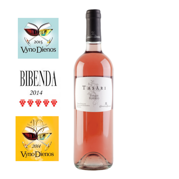 OUR FAMILY ROSE: Tasari  Syrah Rosato