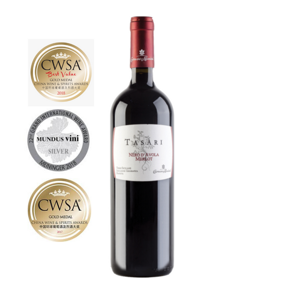 OUR FAMILY RED: Tasari Nero D'Avola Merlot Terre Siciliane
